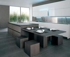 1000 images about keuken on pinterest met google and loft interiors - Moderne keuken deco keuken ...