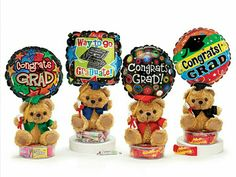 Graduation Gift... Candy, Bear n Balloon.