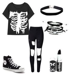 """Untitled #123"" by musicqueen72 ❤ liked on Polyvore featuring Converse and Miss Selfridge"