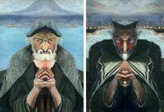Risultati immagini per dipinti diavolo
