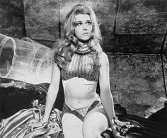 Red Bikini, Bikini Girls, Bikini Tops, Jane Fonda Barbarella, Henry Fonda, Cinema, Denise Richards, Michelle Rodriguez, Adam Sandler
