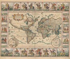 7 Gorgeous Sea Maps From The Age Of Exploration   Atlas Obscura