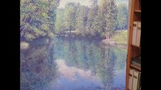 """Hogstvedt is working on his latest painting """"Summer Breeze"""". Use of colors: Michael Harding Summer Breeze, Youtube, Painting, Color, Colour, Painting Art, Paintings, Youtubers, Colors"""