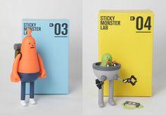Maria victrix, los talleres: Los Toy Arts de Sticky Monster Lab