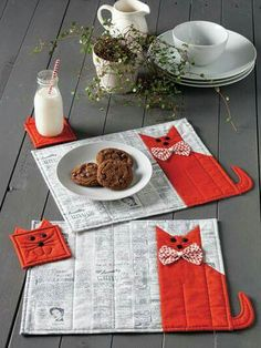 Cats potholders