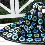 hæklet tæppe  crochet afghan