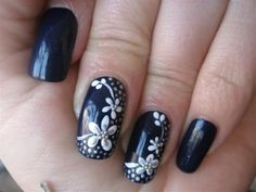 Fotos de uñas decoradas Navidad 2010   Moda