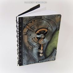 Steampunk+Notebook+Machinery+20+by+diarmentcreations+on+Etsy,+$33.60