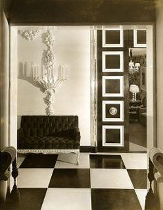 A Dorothy Draper interior