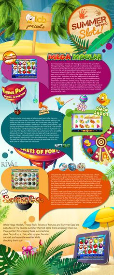 Summertime Calls for Summer-Themed Slots