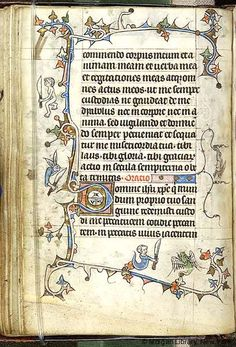 Book of Hours, MS M.754 fol. 23v - Images from Medieval and Renaissance Manuscripts - The Morgan Library & Museum