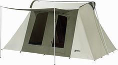 Wow, the Kodiac Canvas has exceeded my expectations by a LONG SHOT. I like that you can use it year-round and it's not going to leak in the rain. A great tent built with high quality in mind. See my full review: http://campingmastery.com/does-the-kodiak-canvas-flex-bow-tent-deserve-5-stars