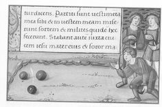 Games - Medieval Bowling - history and how to play Medieval Banquet, Medieval Games, Medieval Party, Medieval Life, Youth Activities, Activity Games, Fun Games, Garden Games, Renaissance Era