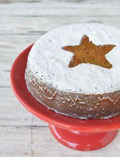 Torta de mandarinas y avena