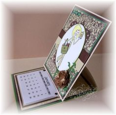 Tess Desk Calendars by Joeknee - Cards and Paper Crafts at Splitcoaststampers