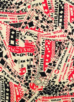 Printed fabric, 1936, Studio Bianchini-Férier, France.