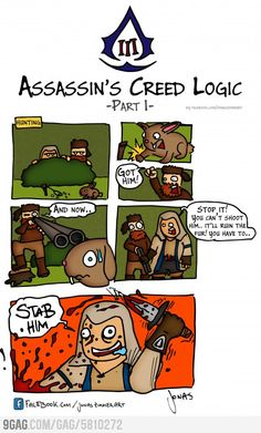 Assassins Creed III Logic - Part 1