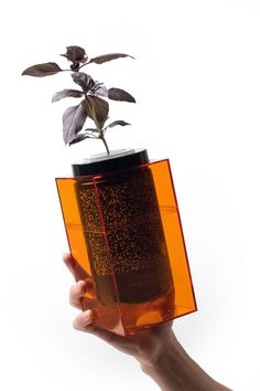 reforming space-grade science into an elegant kitchen planter called a \'spacepot\', futurefarms have set out to downsize the extraterrestial farming technique into an elegant tabletop planter.