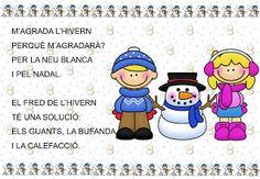 Material d'infantil: Poema de l'hivern