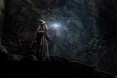 Ian McKellen as Gandalf in The Hobbit: The Desolation of Smaug.