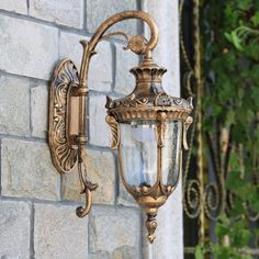 America Vintage Wall Lamp Antique Outdoor Waterproof Balcony Light Garden Corridor Wall Lamps