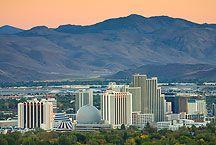 Skyline of Reno, Nevada