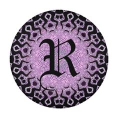 Glitter Purple Black
