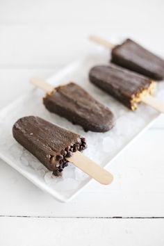 Delicious Fudgesicles loaded with healthy ingredients— including spinach you'll never taste!