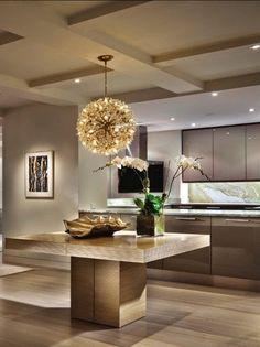 Luxury Kitchen Designs 2014 idea/ola dream blue metallic high gloss lacquer with silver gray