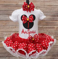 Check out this item in my Etsy shop https://www.etsy.com/listing/260886620/minnie-mouse-birthday-tutu-outfit