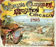 1893 Columbian Exposition Poster