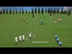 Soccer Passing Drills: Passing in Colors Soccer Passing Drills, Soccer Training Drills, Football Drills, Soccer Games, Play Soccer, Soccer Ball, World Cup Russia 2018, Football Players, Kicks