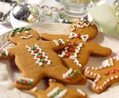 Best of the Season Gingerbread Cookies. These holiday gingerbread cookies have crisp edges, soft centers, and a hint of molasses and ginger. by cheryl.galloway.98