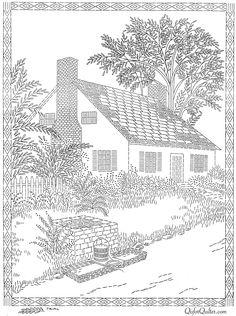 Los patrones de bordado - Página 9 - Q es para Quilter