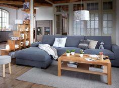 Love the grey door Home Living Room, Apartment Living, Living Spaces, Deco Furniture, Home Furniture, Bookshelves In Bedroom, Front Rooms, Dining Room Design, Home Interior Design