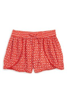 Yes way, crochet. These brightly patterned print cotton-blend shorts are available exclusively at Nordstrom.