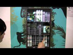 dsj_デジタルサイネージジャパン2011_SCALAブース(透明ディスプレイ) - YouTube