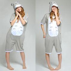 Summer Kigurumi Gray Mouse Pattern Kigurumi Costume