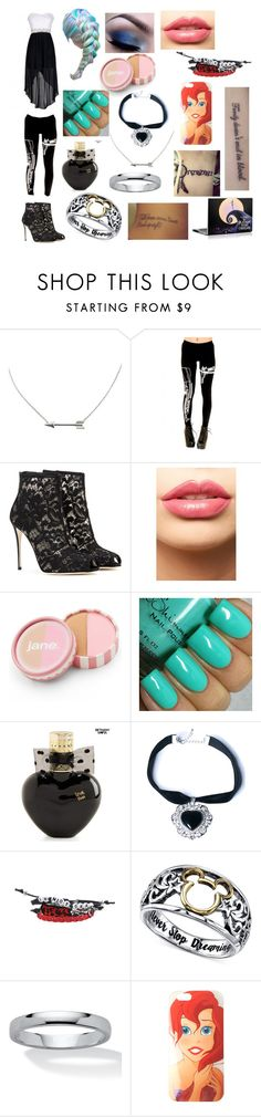 """""""Untitled #97"""" by snulfers ❤ liked on Polyvore featuring Dolce&Gabbana, LASplash, jane, Aéropostale, Rock 'N Rose, Disney, Palm Beach Jewelry, women's clothing, women and female"""
