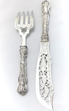 French Sterling Serving Pieces