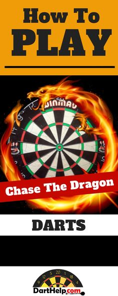 Are you a skilled darts player looking for a new game? Try Chase the Dragon! Darts And Dartboards, Throwing Games, Sports Man Cave, Darts Game, Diy Games, Free Games, Simple Rules, Travel Design, News Games