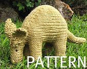 Um, yes I want to knit an aardvark!