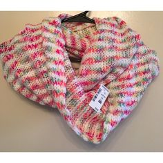 Multi Color Knit Scarf Beautiful Multi Color Knit Throw Over Scarf - Will compliment any style  Aeropostale Accessories Scarves & Wraps