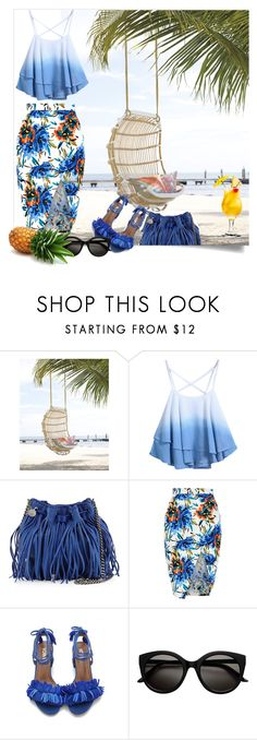 """""""Summer"""" by jenkey-cool-fashion ❤ liked on Polyvore featuring Chicnova Fashion, STELLA McCARTNEY and New Look"""