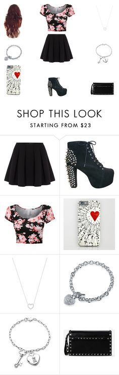 """""""Untitled #263"""" by life-is-fvcked ❤ liked on Polyvore featuring Polo Ralph Lauren, Jeffrey Campbell, Tiffany & Co., BERRICLE, Bling Jewelry and Valentino"""