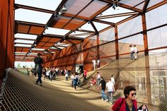 BRAZIL PAVILION AT MILAN EXPO 2015 by Atelier Marko Brajovic as Architects