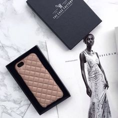 Quilted Nappa Biscotto is crafted out of the finest Italian nappa leather and is one of our classics. #techfashion #thecasefactory Photo by: @yoncaerguner