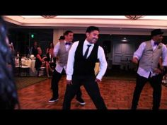 ▶ Best Groomsmen Dance Ever!!! - Love Never Felt So Good (Gustavo Vargas) - YouTube