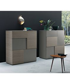 --> Highboard Incontro 201 - san-giacomo --> € // check out more --> wohnstation. Modern Bedroom Furniture, Furniture Decor, Furniture Design, Drawer Design, Shelf Design, Resource Furniture, Transforming Furniture, Regal Design, Cabinet Furniture