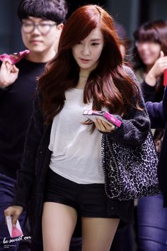 Snsd Fashion, Pop Fashion, Teen Fashion, Girls' Generation Tiffany, Girls Generation, Korean Airport Fashion, Korean Fashion, Tiffany Snsd, Tiffany Hwang